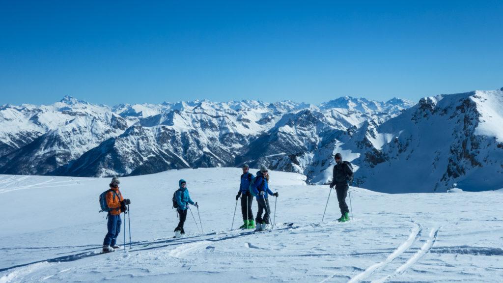 Souvenirs de ma première sortie ski de rando - ©ClemBelleudy - Virée Verticale