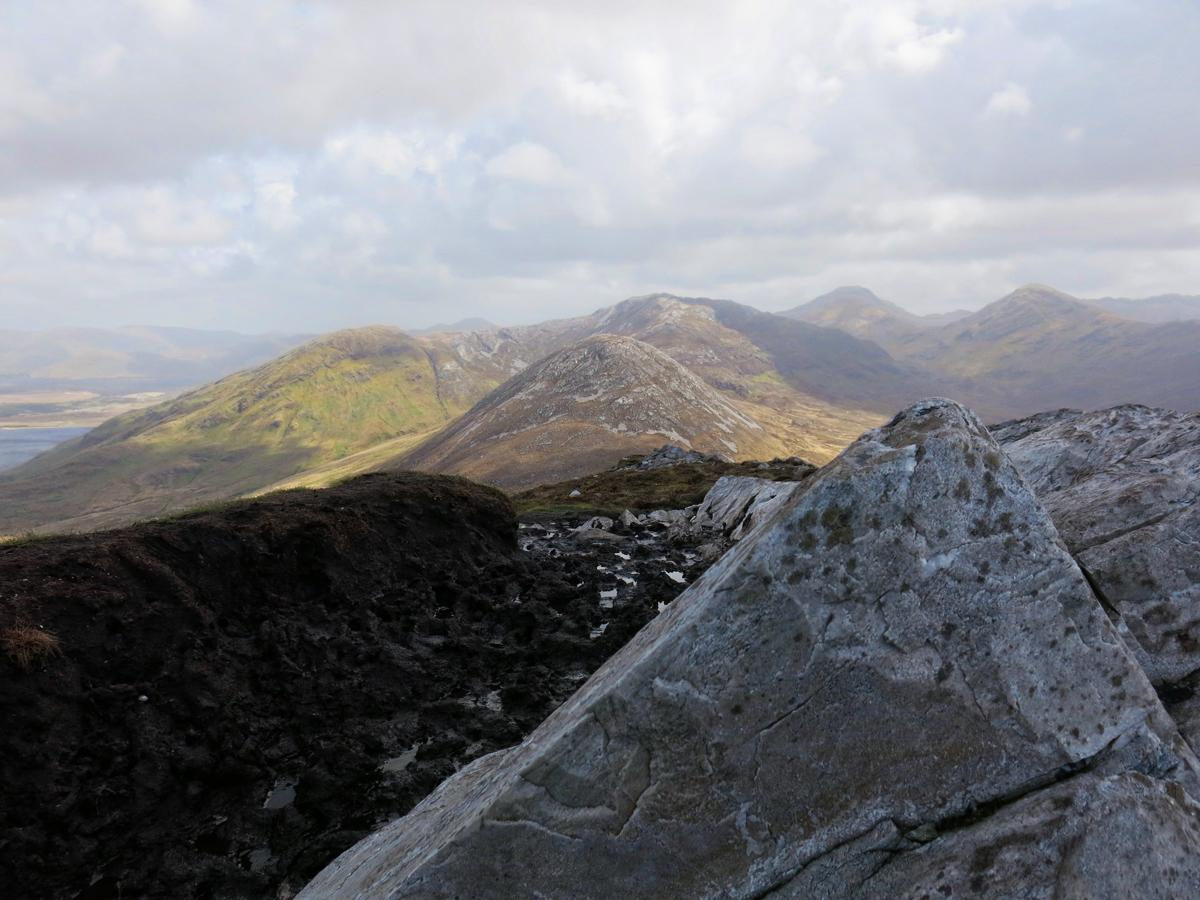 Chaîne de montagnes Connemara, Virée Verticale