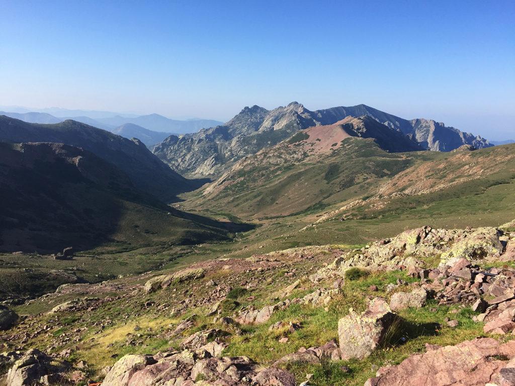 Arrivés à Bocca di Fuciale, cette vue nous émerveille, GR20, Virée Verticale