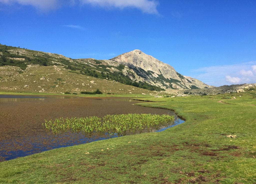 Le lac de Nino et ses pozzines, GR20, Virée Verticale