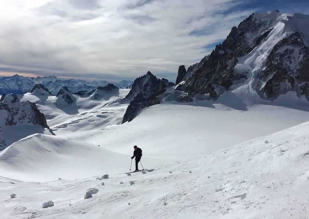La descente de la Vallée Blanche, l'itinéraire pour en prendre plein les yeux, Virée Verticale