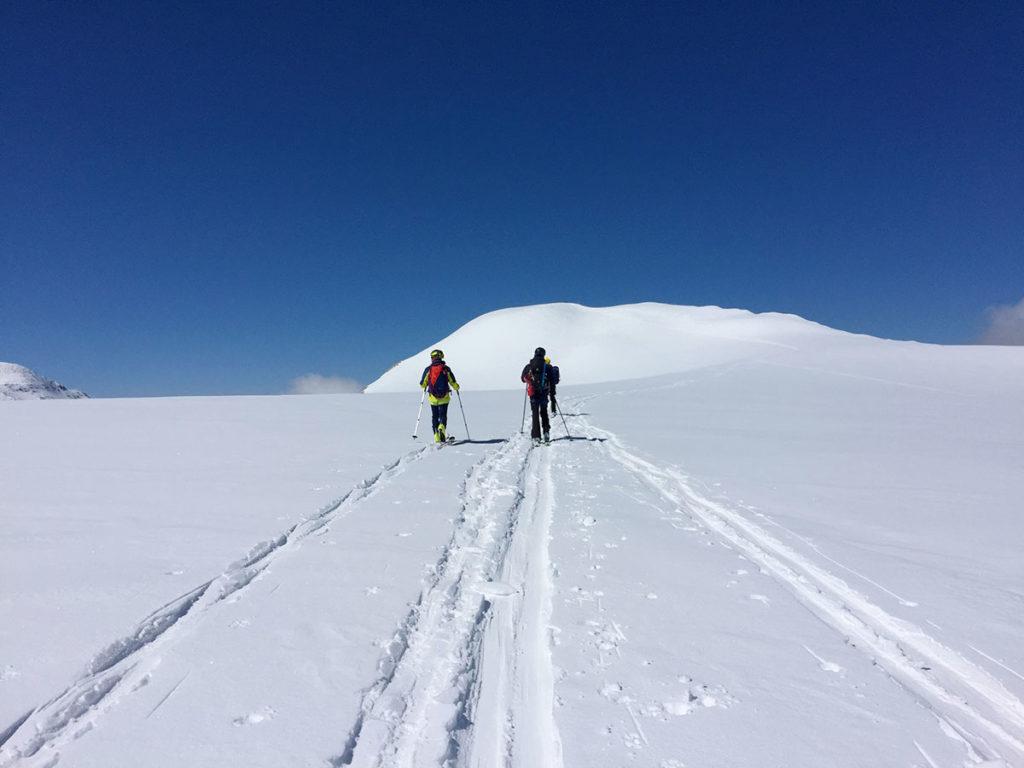 Deuxième objectif du jour : la Pointe du Dard, 3 206 m - Virée Verticale