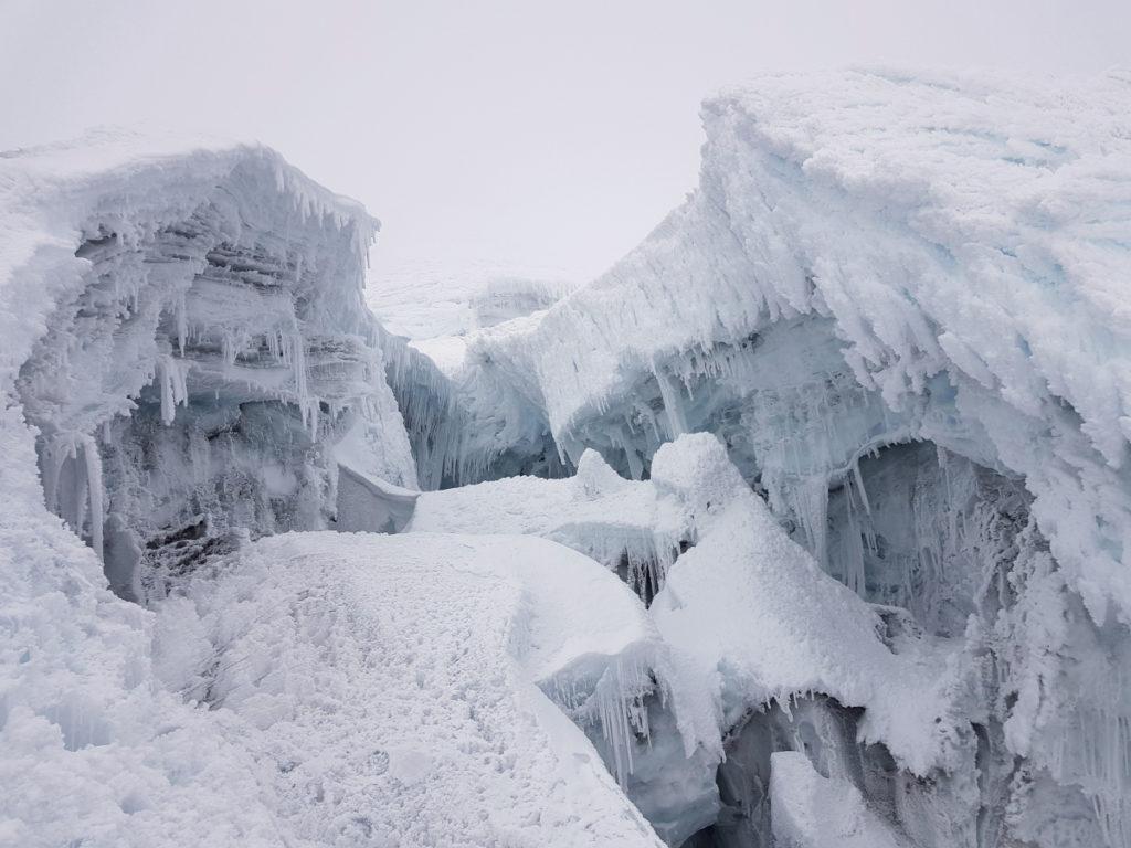 Cathédrales glacées