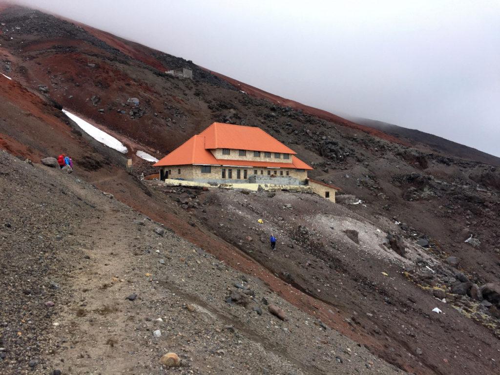 Le refuge du Cotopaxi