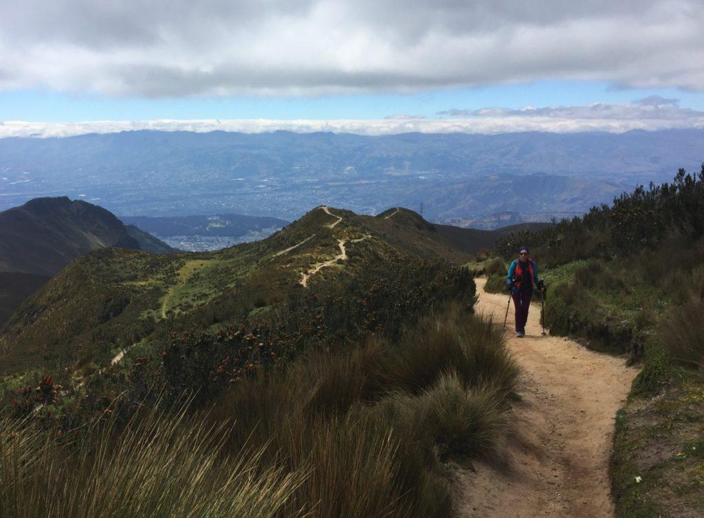 Chemin du Rucu Pichincha