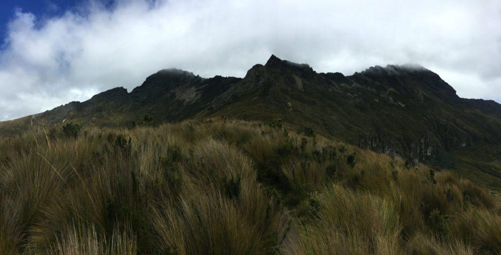 Les 3 sommets du Rumiñahui